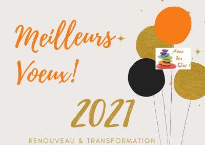 Meilleurs Voeux 2021 !